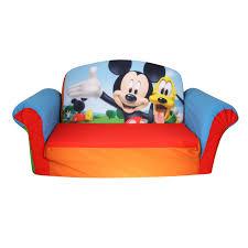 Mickey Mouse Potty Chair Amazon by Marshmallow Furniture Children U0027s 2 In 1 Flip Open Foam Sofa