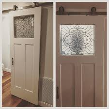 Stained Glass Beveled Sliding Barn Bathroom Door ... Rustic Style Barn Door Modern Industrial Industrial Sliding Barn Door For Bathroom Home Design Ideas Bedroom Sliding Farm Interior Doors For Homes Double 15 That Bring Beauty To The Bathroom Best 25 Doors Ideas On Pinterest Privacy 19 Shower Bathrooms Amazing How To Hang The Marriott Hotel With Soft Close Most Widely Used Project Kids Diy Window Cover 12