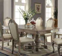 ACME Chateau De Ville Antique White 7 Pc Pedestal Dining Table Set 30 Rugs That Showcase Their Power Under The Ding Table Coastal Beach White Oak Round Room Set Zin Home Oval Sets Cute Unique Pedestal Kitchen Acme Versailles 9piece In Bone By Square For 4 Breakpr American Drew Jessica Mcclintock The Boutique Collection 7 Fniture Ideas Ikea And Chairs Clearance Liberty Farmhouse Reimagined Relaxed Vintage 5piece Bentleyblonde Diy Makeover With Annie Whitney Twotone Cottage Rotmans