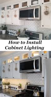 how to install kitchen cabinet lighting cabinet lighting