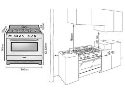 90cm Vintage Cooker DEFV908R
