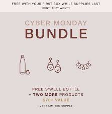 Causebox Cyber Monday Sale 2018 - FREE S'well Bottle Mystery ... Swell Traveler Collection 16 Oz Water Bottle Promo Code For Swell Park N Fly Economy Contigo Autoseal 24oz Chill Stainless Steel Ozbargain12 Flash Sale 41 Off All 500ml Causebox Uncommon Knowledge Coupon Lowes Slickdeals Swell 260 Ml Silver Lings Home Interiors Nz 9 Brosa Fniture Hyperthreads Bresmaid Style Personalized Gifts Bridal Party Monogram Best Subscription Box Deals To Grab This Weekend 518 Pets Discount Nine West Aus