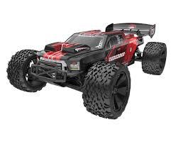 100 Rc Monster Truck For Sale 16 Shredder XTE V2 RC Brushless 24GHz Red Zandatoys