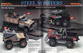 Steel Monsters: The Only Survivors (Tonka, 1986-1987) | 2 Warps To ...