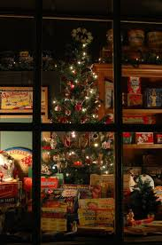 Toy Shop Christmas Window