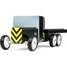 Candylab Bad Emergency Flatbed Truck Black OTLW-004 - Sportique