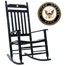 u s navy fully assembled rocking chair military rocking