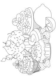 25 Lovely Cupcake Coloring Pages Your Toddler Will Love