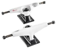 Tensor Mag Light White/Black Pro Skateboard Trucks - 5.5 ...