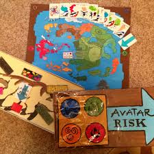 Homemade Avatar Risk Board Games