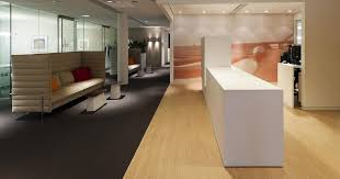 PlexwoodR Rabobank Lochem Public Office Area Two Layer Parquet Floor In Pine Ocoume
