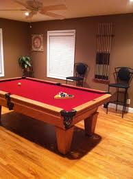 Basement Pool Table Idea | Man Cave | Pinterest | Basement Pool ... Breckenridge Dark Oak Preowned Pool Tables Game Room Fniture Table Delivery And Install Archives Page 6 Of 13 Dk Amf Adirondack Chairs Pottery Barn Best 25 Table Repair Ideas On Pinterest Lego Shelves News Robbies Billiards Onlyatnm Only Here Ours Exclusively For You Handcrafted Lamps Pulley Light Ramapo Reno Awesome On Ideas Also Style
