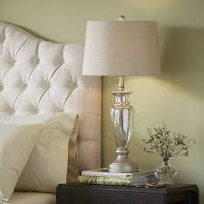 Glass Table Lamps For Bedroom by Selecting The Correct Size For Your Mercury Glass Table Lamp
