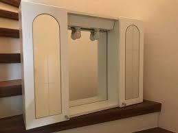 badezimmer hängeschrank weiß landhausstil
