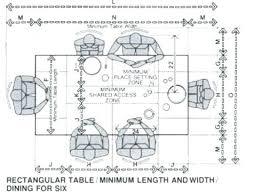 Dining Table Width Standard Zagonsco Bench