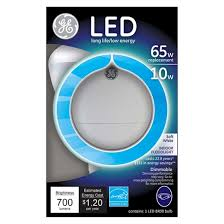 ge led 65 watt br30 neck light bulb soft white target