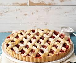 rhabarber erdbeer tarte