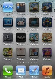 iOS Bugs All apps stuck on