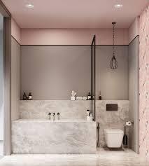 rosa pastellfarben marmor look trend le bad grau set
