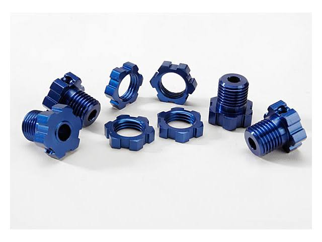 Traxxas Anodized Wheel Hubs Hex Kit - 17mm