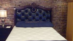 Black Leather Headboard King Size by King Size Leather Headboard U Design Blog