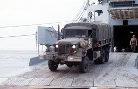 100 Army 5 Ton Truck A US M939A2 Ton Truck Rolls Down The Ramp Of The Ready