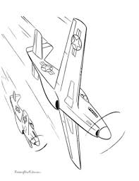 Free Printable Coloring Pages Of Airplanes And Jets Are Fun For Kids Jet Page 006