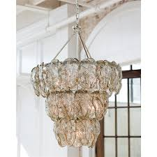Destinations By Regina Andrew Lamps regina andrew design glass leaves chandelier silver 16 1001