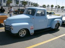 1951 Chevrolet Pickup Step Side 1/4 Mile Drag Racing Timeslip Specs ...