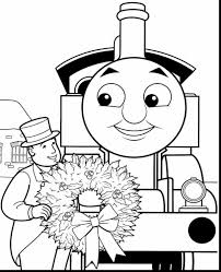 Terrific Thomas The Tank Engine Coloring Pages With