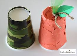Easy Thanksgiving Kids Crafts With Paper Cups Cute Come And Get It Bell LivingLocurto