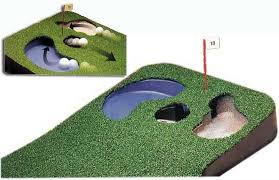 golf training aids hazard putting green