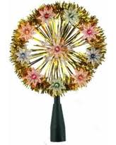 Vickerman Christmas Tree Topper by Deal Alert Vickerman 0 8 U0027 Lighted Gold Glitter Starburst