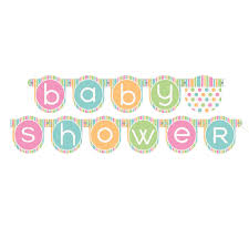 Baby Shower Logo by Pastel Baby Shower Banner Baby Shower Decorations
