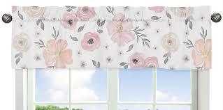 Sweet Jojo Designs Crib Bedding by Jojo Shabby Chic Blush Pink Gray Floral Watercolor Baby