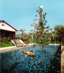 Mr Jingles Christmas Trees Hollywood by Christmas Swim By Slim Aarons Someday When I Have My Own Pool