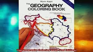 FREE PDF The Geography Coloring Book 2nd Edition DOWNLOAD ONLINE