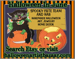 Is Happy Halloween Capitalized by Halloween In June 2017 Halloween Artist Bazaar
