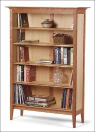 frame and panel bookcase project plan by peter zuerner
