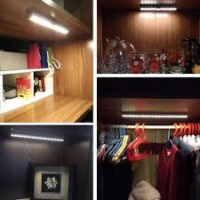 10 leds ir infrared light motion detector wireless sensor closet