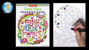 Design Originals Good Vibes Adult Coloring Book Thaneeya McArdle Bloom