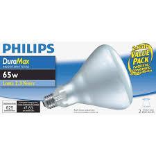 philips duramax 65w br40 incandescent floodlight light bulb