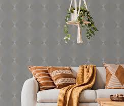 erismann 10085 10 instawalls 2 wandtapete grafisch tapete grau modern muster