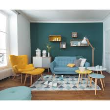 Fixed Sofas Paint In House Retro Living Rooms Home