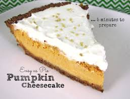 Easy Pumpkin Desserts Pinterest by Pumpkin Cheesecake This Easy Pumpkin Cheesecake Pie Uses A Quick
