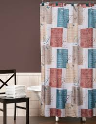 Small Bathroom Window Curtains Amazon by Amazon Com Saturday Knight Cherish Shower Curtain Home U0026 Kitchen