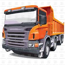 100 Large Dump Trucks European Dumper Truck Stock Vector Image