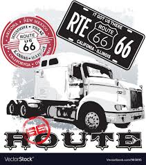 Truck Route 66 Royalty Free Vector Image - VectorStock Odessa New Truck Route Signs Look To Relieve Cgestion Inside The City Semi Trailer Length 53 Feet Is Not Standard Evywhere Electric Tesla Truck Consumer Reports Nyc Dot Trucks And Commercial Vehicles Exclusive How Teslas First Charging Stations Will Be Built Commercial Maps Driving Directions Youtube Pin By Jacky Hoo On Super Pinterest Biggest Rigs To Reduce Fuel Csumption In Teletrac Navman Tractor Renault Premium Route Euro 5 Eev Used Saving Time Parking Lot Sweeping Routes Alrnate Latest News Breaking Headlines Top City Seeks Input For Their Smart Management Plan New