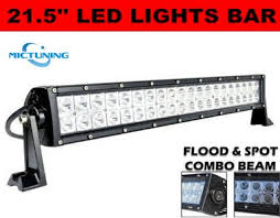 mictuning 21 5 inch 120w combo led light bar 8000 lumen 6000
