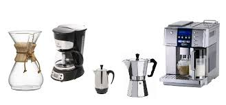 The Most Popular Types Of Coffee Makers